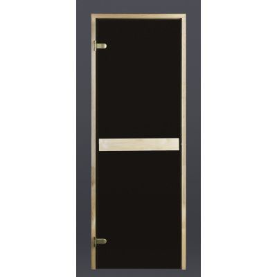 Hauptbild von Ilogreen Saunatür Classic 79x209 cm, Bronze 8 mm