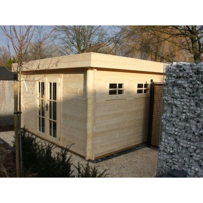 Bild 23 von Azalp Blockhaus Ingmar 400x450 cm, 30 mm