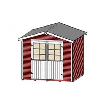 Afbeelding 3 van Weka Tuinhuis 218 Gr. 1 Zweeds rood