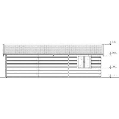 Afbeelding 3 van Hangar Garage 595x900 cm, 68 mm