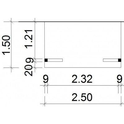 Afbeelding 37 van Azalp Deluxe zijdak 150x250 cm (O)c
