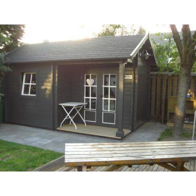 Afbeelding 18 van Azalp CLASSIC blokhut Cottage Style Cumberland 520x430 cm, 45 mm
