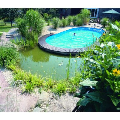 Afbeelding 7 van Trend Pool Tahiti 623 x 360 x 120 cm, liner 0,8 mm (starter set)