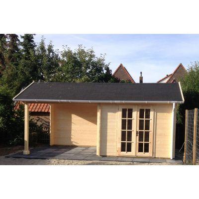 Bild 22 von Azalp Blockhaus Marnix 650x350 cm, 45 mm