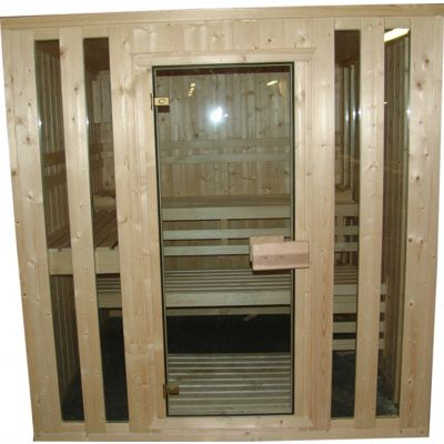 Afbeelding 5 van Azalp massieve sauna Alku 238x117 cm, 40 mm