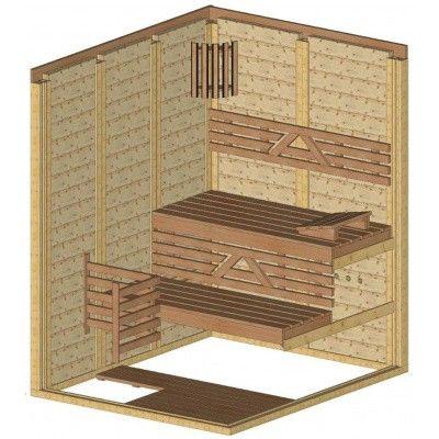 Afbeelding 44 van Azalp Massieve sauna Genio 150x180 cm, 45 mm