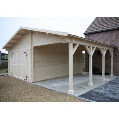 Hoofdafbeelding van Azalp Garage Vigo 770x700 cm, 95 mm