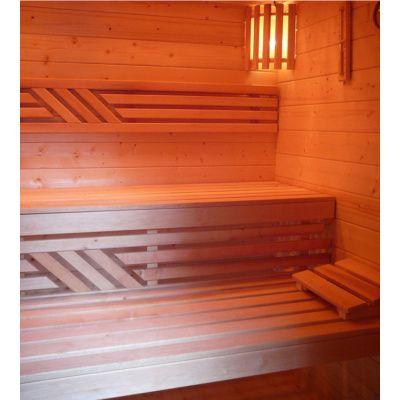 Afbeelding 12 van Azalp Saunabank recht, Elzen breedte 40 cm