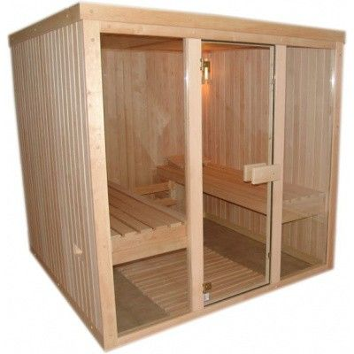 Bild 1 von Azalp Optic Elementsauna 169x186 cm, Erle