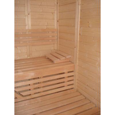 Afbeelding 31 van Azalp Massieve sauna Genio 180x180 cm, 60 mm