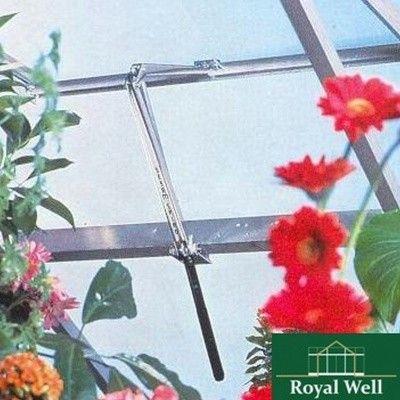 Hoofdafbeelding van Royal Well Raamopener Spiro RVS