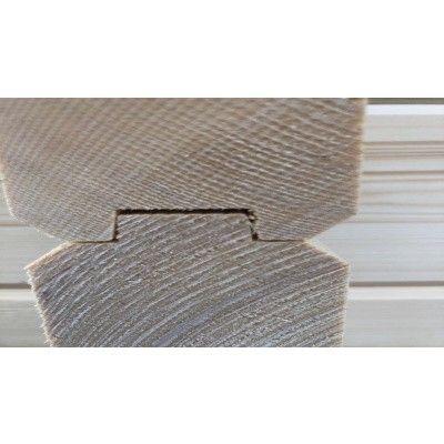 Afbeelding 3 van Graed Livington Chalet 600x600 cm, 44 + 44 mm (Dubbelwandig)