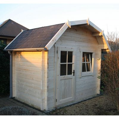 Bild 33 von Azalp Blockhaus Kent 400x350 cm, 45 mm