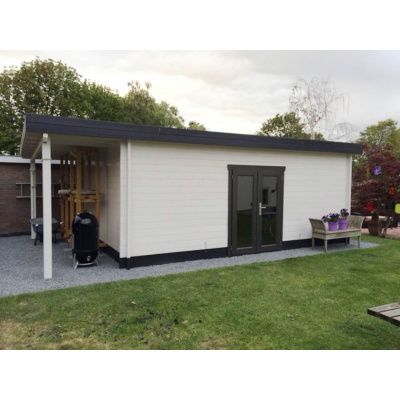 Bild 45 von Azalp Blockhaus Sven 500x550 cm, 45 mm