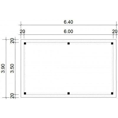 Afbeelding 18 van Azalp Prieel Keira 640x390 cm