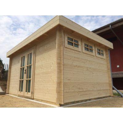 Bild 90 von Azalp Blockhaus Ingmar 596x596 cm, 45 mm