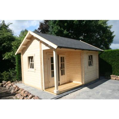 Afbeelding 5 van Azalp CLASSIC blokhut Cottage Style Kinross, 45 mm