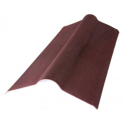 Hoofdafbeelding van Onduline Onduvilla nokstuk 90 cm Rood*