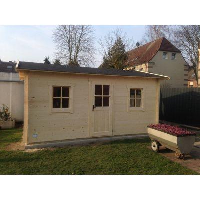 Bild 6 von Azalp Blockhaus Mona 450x500 cm, 30 mm