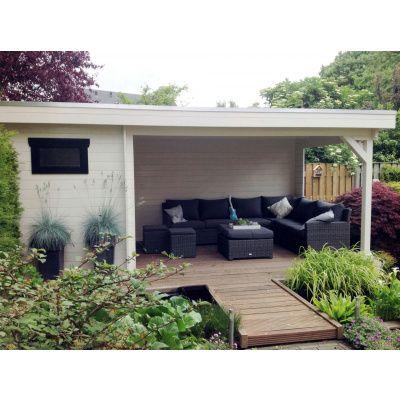 Bild 3 von Azalp Blockhaus Edith 500x300 cm, 45 mm