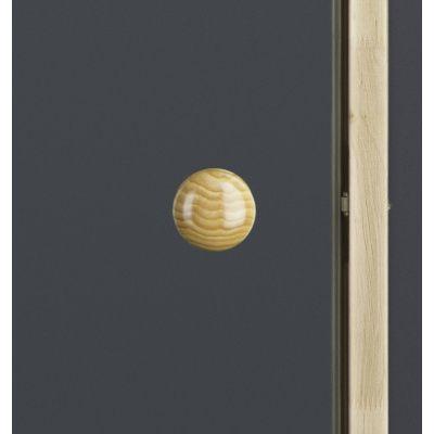Afbeelding 2 van Ilogreen Saunadeur Trend (Elzen) 199x79 cm, helderglas