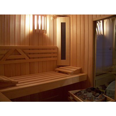 Afbeelding 14 van Azalp Sauna Runda 203x203 cm elzen