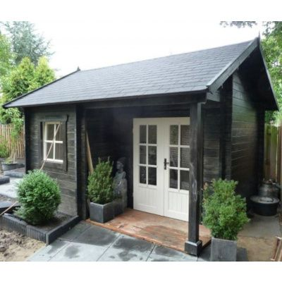 Afbeelding 16 van Azalp CLASSIC blokhut Cottage Style Cumberland 520x430 cm, 45 mm