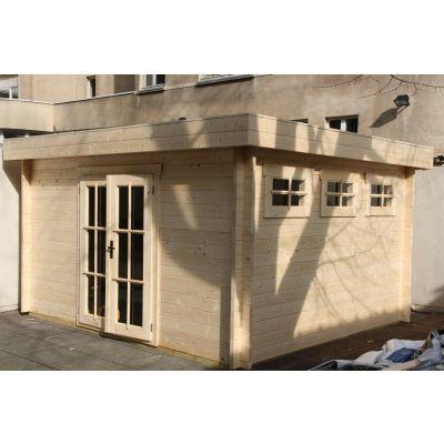 Bild 7 von Azalp Blockhaus Ingmar 350x400 cm, 45 mm