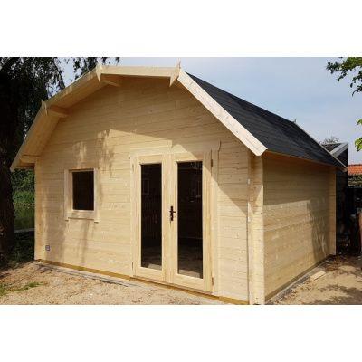 Bild 17 von Azalp Blockhaus Cornwall 400x350 cm, 30 mm