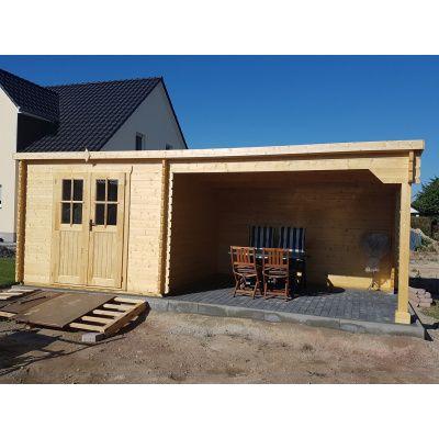 Bild 24 von Azalp Blockhaus Sanne 600x250 cm, 30 mm