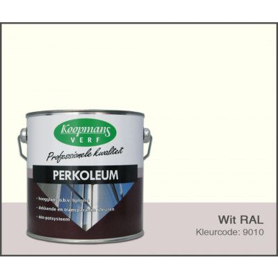 Hauptbild von Koopmans Perkoleum, Weiß RAL 9010, 2,5L Hochglanz