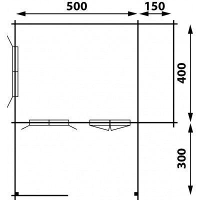 Afbeelding 6 van Interflex 5x4+3Z, geïmpregneerd