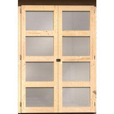 Afbeelding 3 van Woodfeeling Leuven 4 met veranda 240 cm