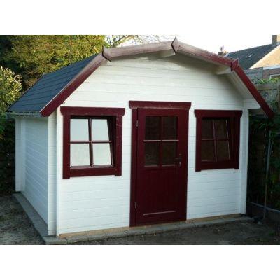 Bild 21 von Azalp Blockhaus Yorkshire 450x400 cm, 45 mm