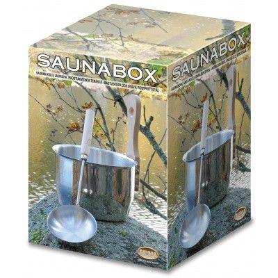 Hoofdafbeelding van Saunia Saunaset RVS (O)