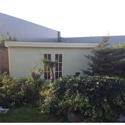 Bild 82 von Azalp Blockhaus Ingmar 596x596 cm, 45 mm