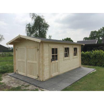 Afbeelding 55 van Azalp Garage Thijs 470x570 cm, 95 mm