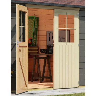 Bild 3 von Woodfeeling Meulebeke 1 mit Veranda 300 cm Terragrau