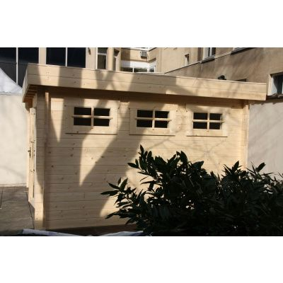 Bild 8 von Azalp Blockhaus Ingmar 400x450 cm, 30 mm