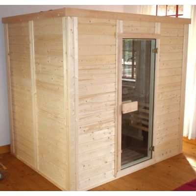 Afbeelding 4 van Azalp Massieve sauna Genio 210x210 cm, 45 mm