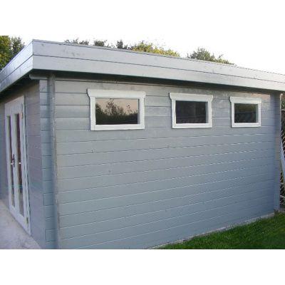Bild 39 von Azalp Blockhaus Ingmar 350x350 cm, 30 mm