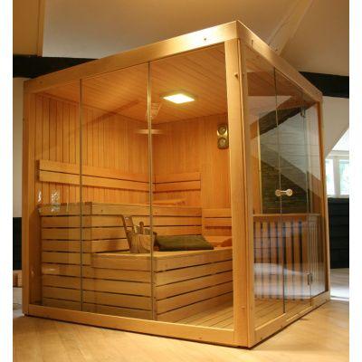 Afbeelding 9 van Azalp Sauna rugleuning Lumen, Elzen
