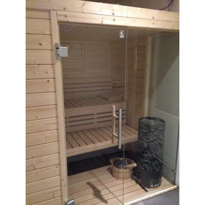 Afbeelding 19 van Azalp Sauna Luja 230x250 cm, 45 mm