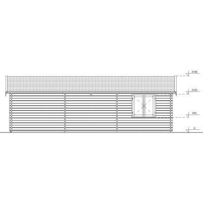Afbeelding 7 van Graed Hangar Garage 595x900 cm, 44mm