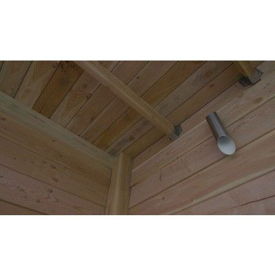 Bild 8 von WoodAcademy Sapphire Excellent Douglasie Gartenhaus 680x400 cm