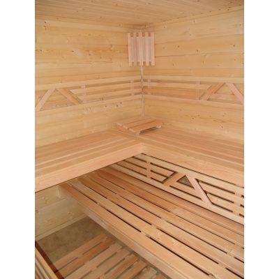 Afbeelding 20 van Azalp Saunabank recht, Elzen breedte 40 cm