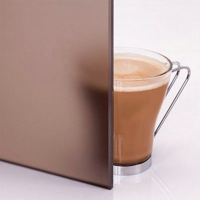 Bild 3 von Hot Orange Dampfbadtür AU Premium 90x210 cm, matt bronz