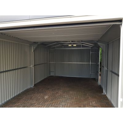 Afbeelding 5 van Duramax Garage Antraciet 1144x370 cm