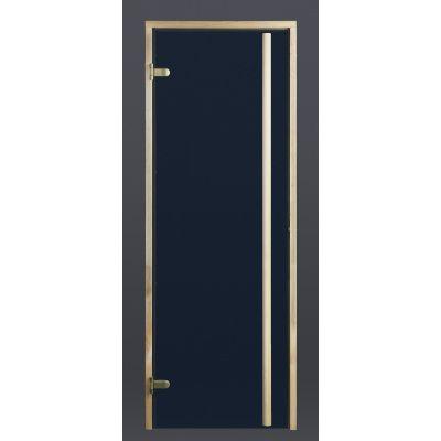Hoofdafbeelding van Ilogreen Saunadeur Exclusive (Elzen) 209x89 cm, blauwglas
