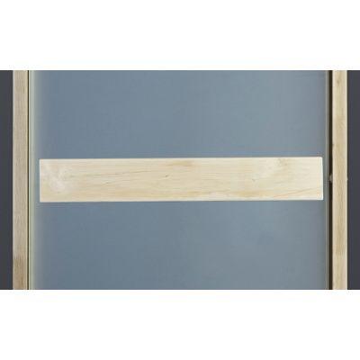Afbeelding 3 van Ilogreen Saunadeur Classic (Elzen) 79x199 cm, melkglas